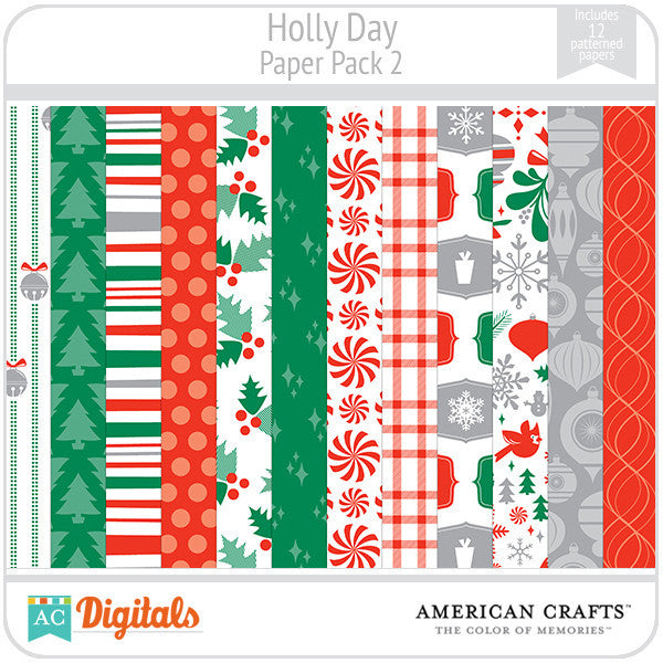 Hollyday Paper Pack #2