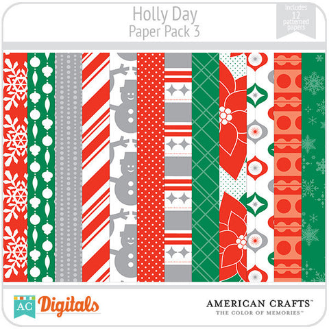 Hollyday Paper Pack #3