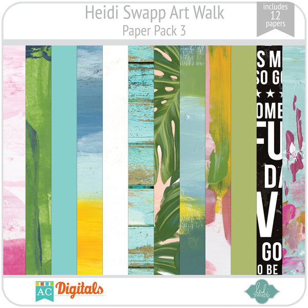 Art Walk Paper Pack 3