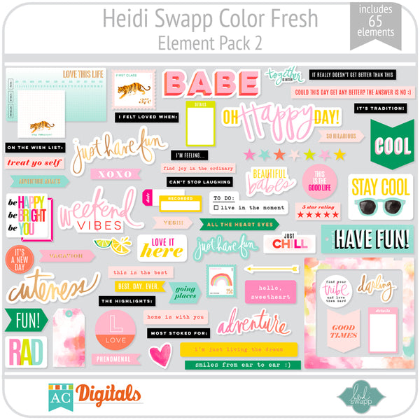 Color Fresh Element Pack 2