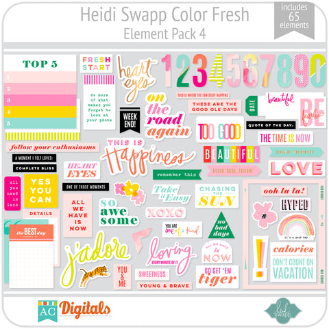 Color Fresh Element Pack 4