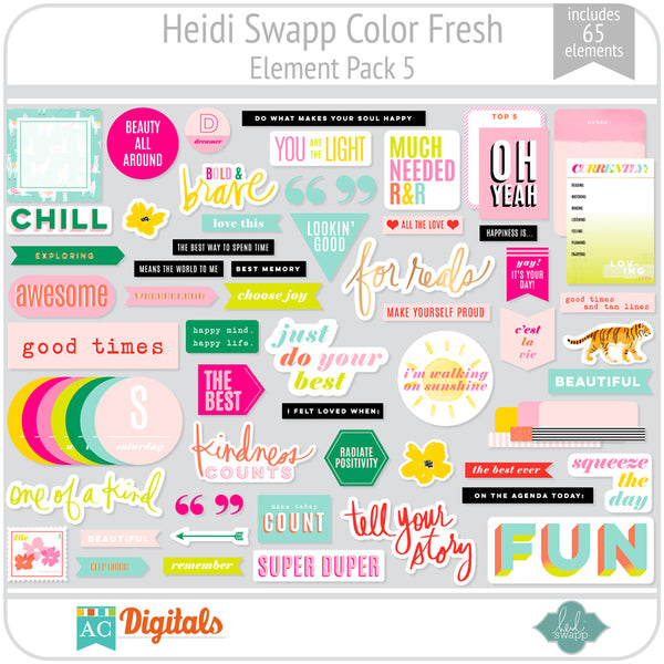 Color Fresh Element Pack 5