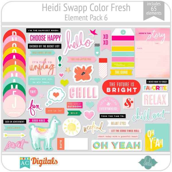 Color Fresh Element Pack 6