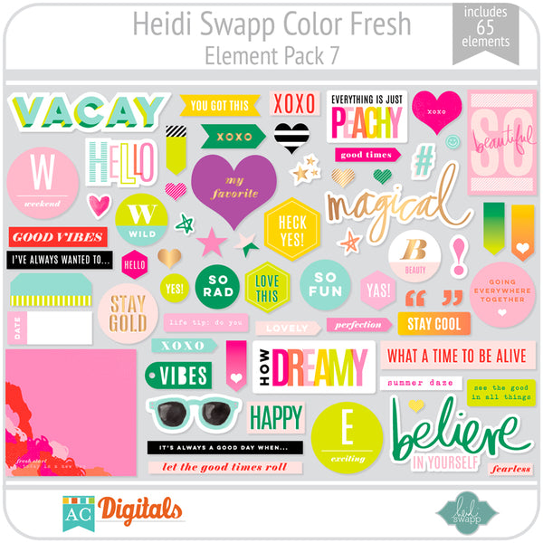 Color Fresh Element Pack 7