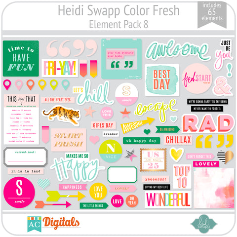 Color Fresh Element Pack 8