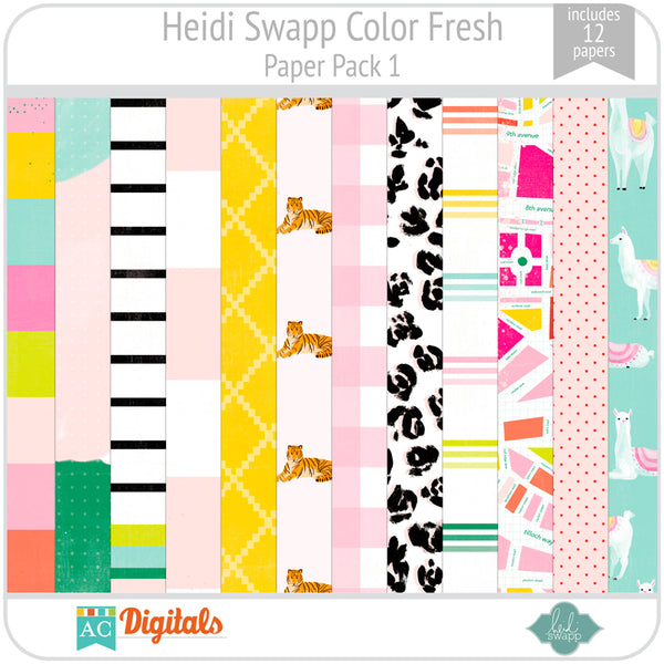 Color Fresh Paper Pack 1