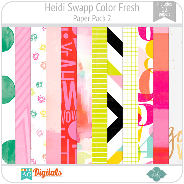 Color Fresh Paper Pack 2