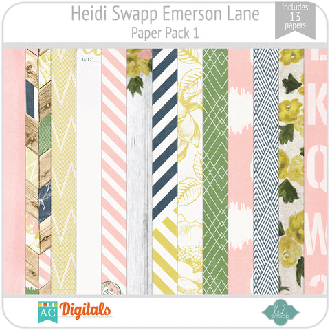 Emerson Lane Paper Pack 1