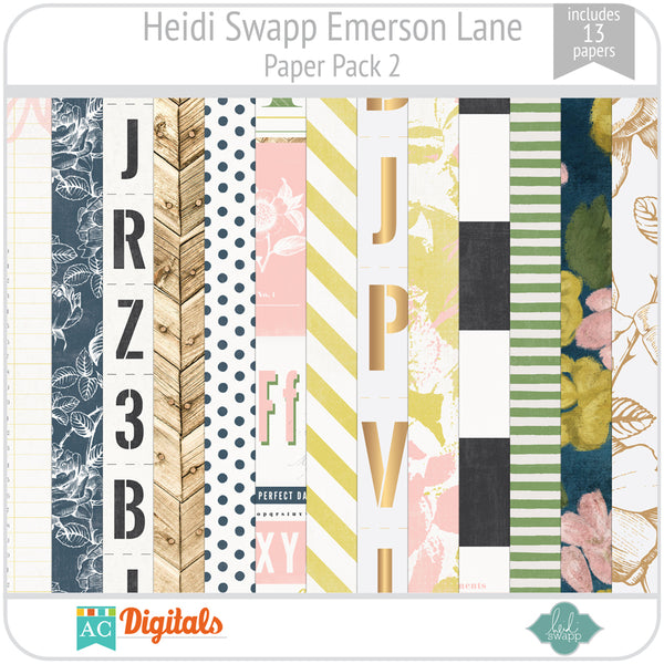 Emerson Lane Paper Pack 2