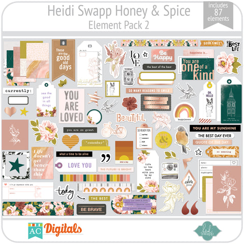 Honey & Spice Element Pack 2