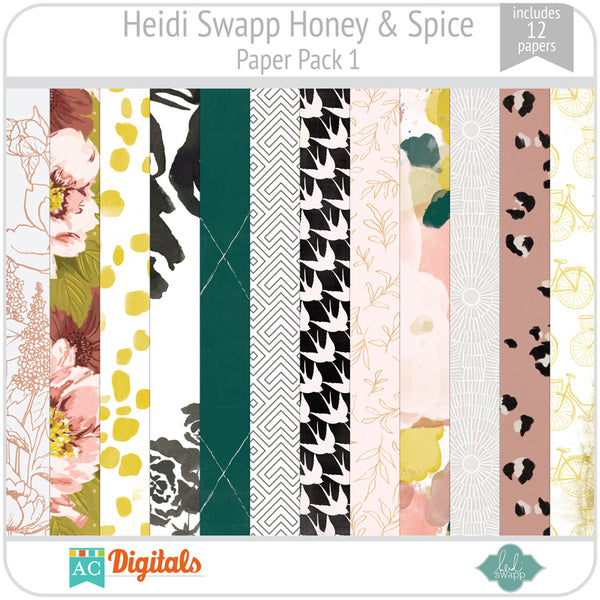 Honey & Spice Paper Pack 1