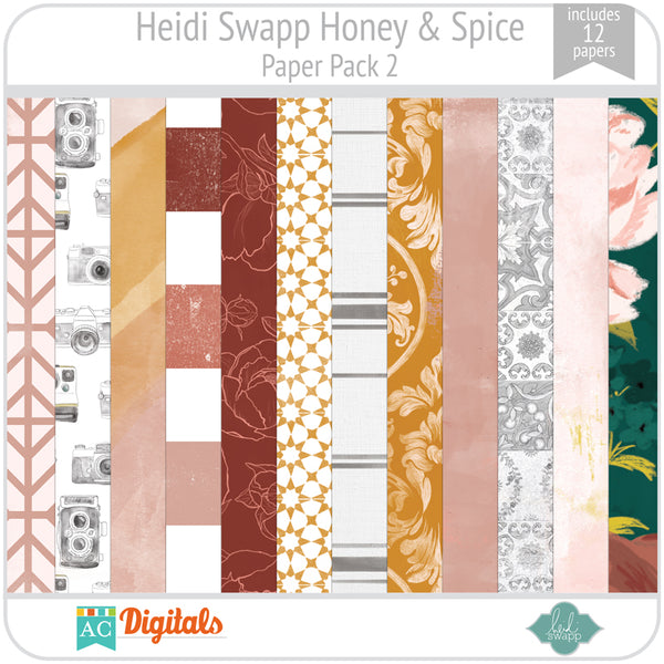 Honey & Spice Paper Pack 2