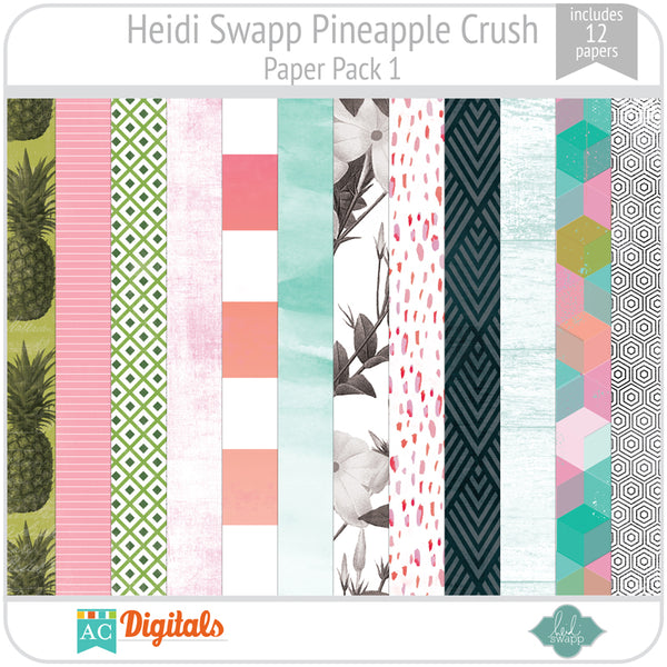 Pineapple Crush Paper Pack 1