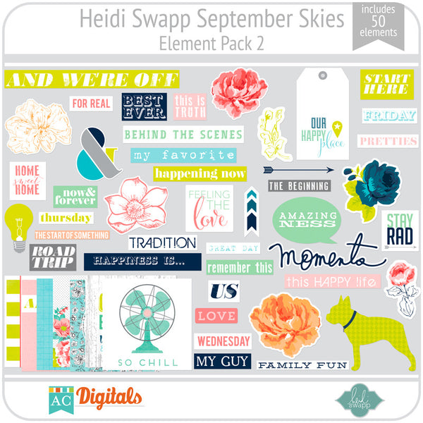 September Skies Element Pack 2