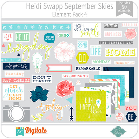 September Skies Element Pack 4