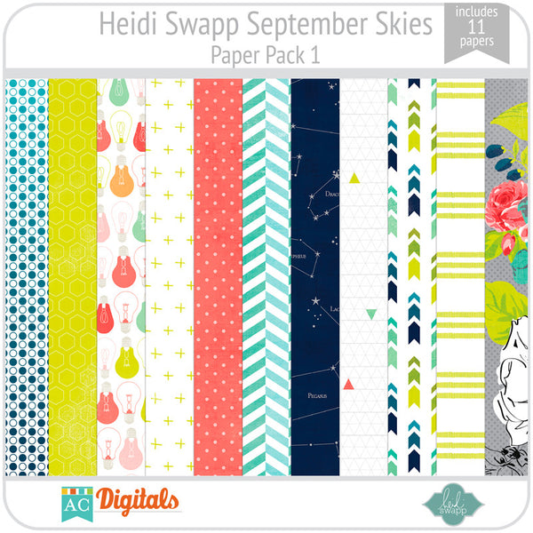 September Skies Paper Pack 1