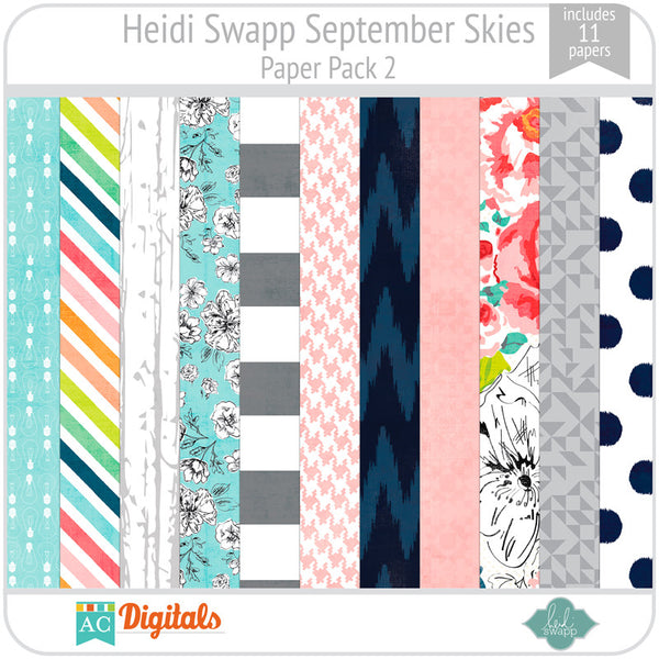 September Skies Paper Pack 2