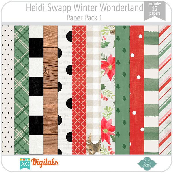 Winter Wonderland Paper Pack 1