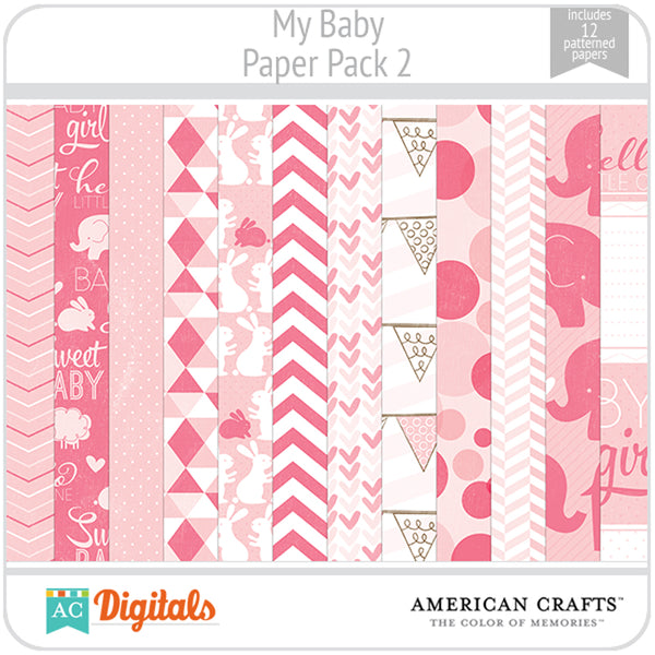 My Baby Paper Pack 2