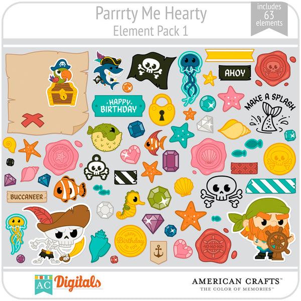 Parrrty Me Hearty Element Pack 1