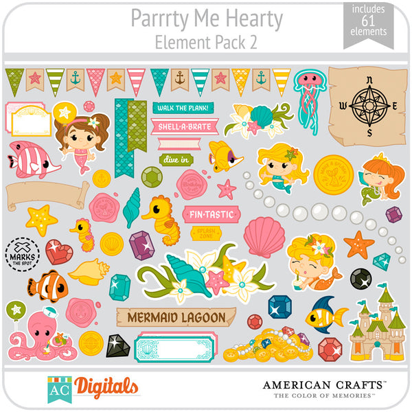 Parrrty Me Hearty Element Pack 2