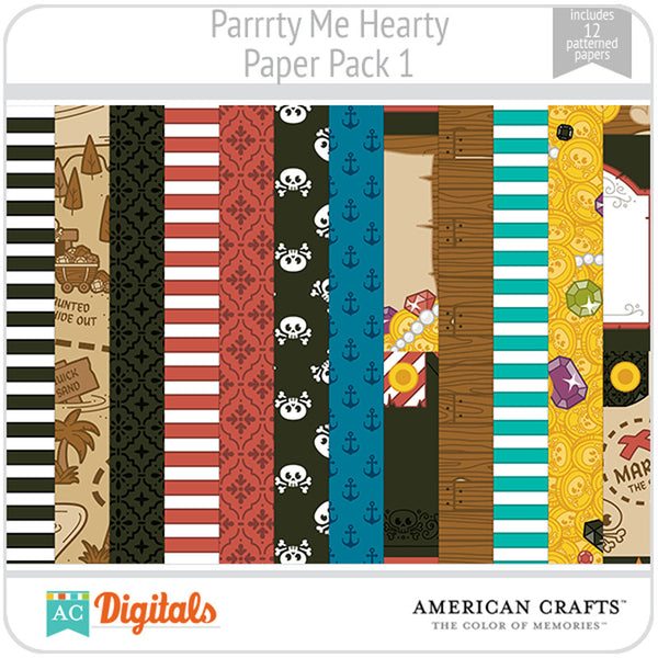 Parrrty Me Hearty Paper Pack 1