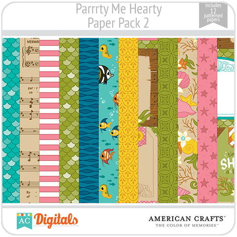Parrrty Me Hearty Paper Pack 2