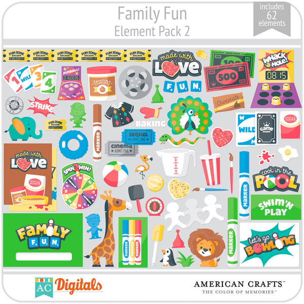Family Fun Element Pack 2