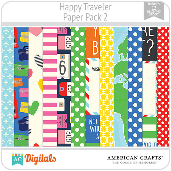 Happy Traveler Paper Pack 2