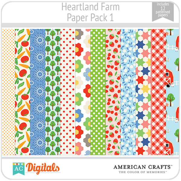 Heartland Farm Paper Pack 1