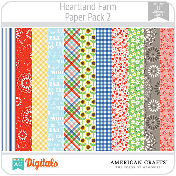 Heartland Farm Paper Pack 2