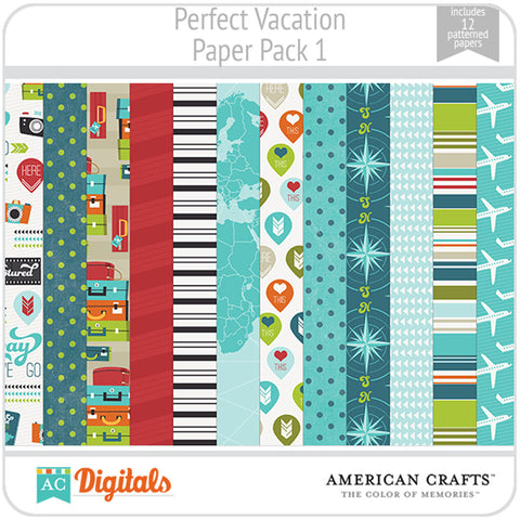 Perfect Vacation Paper Pack 1