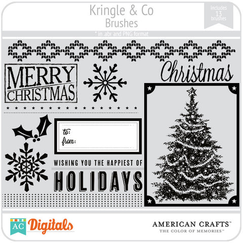 Kringle & Co. Brush Set