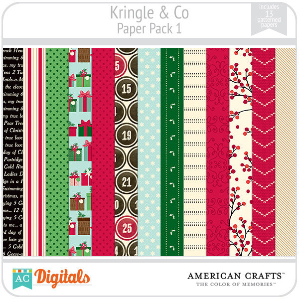 Kringle & Co. Paper Pack #1