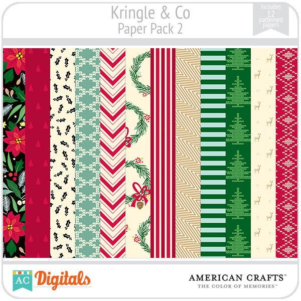 Kringle & Co. Paper Pack #2