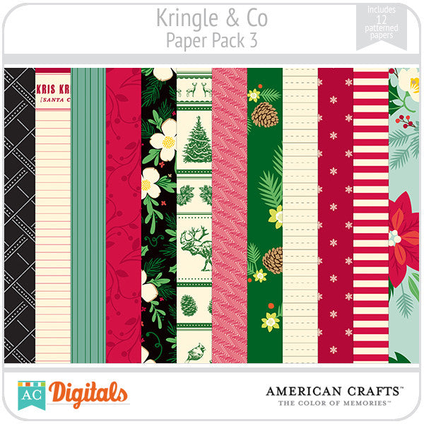 Kringle & Co. Paper Pack #3