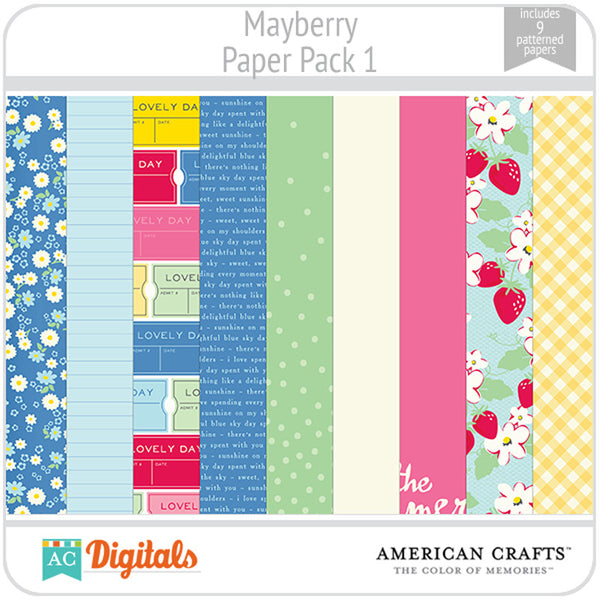 Mayberry Paper Pack 1