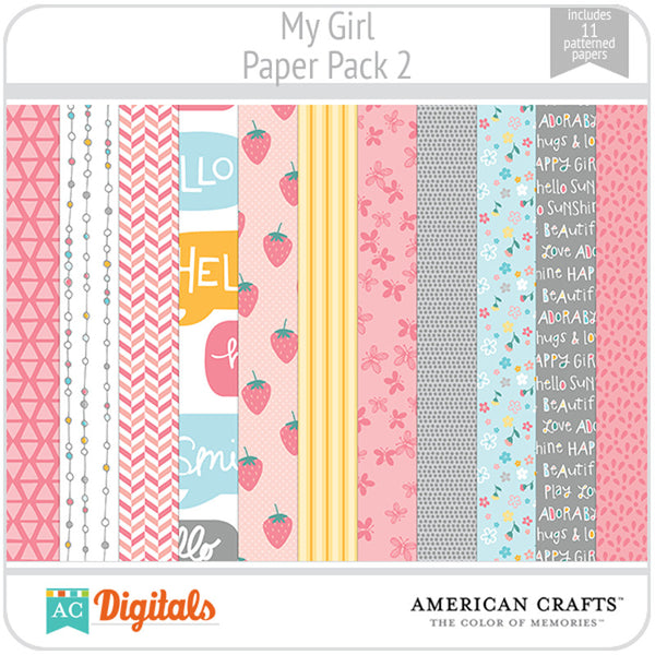 My Girl Paper Pack 2