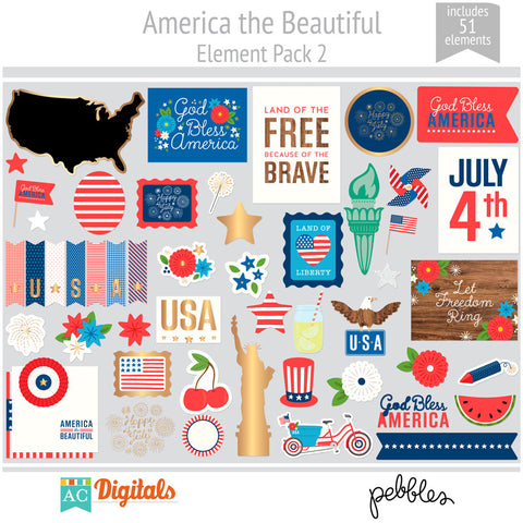 America the Beautiful Element Pack 2