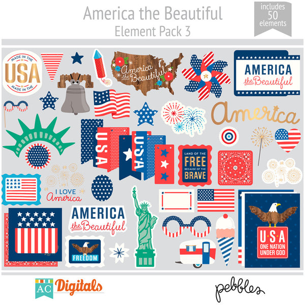 America the Beautiful Element Pack 3