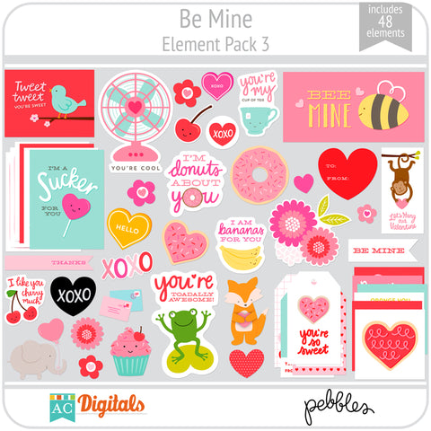 Be Mine Element Pack 3