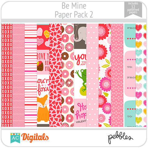 Be Mine Paper Pack 2