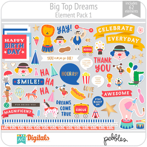 Big Top Dreams Element Pack 1