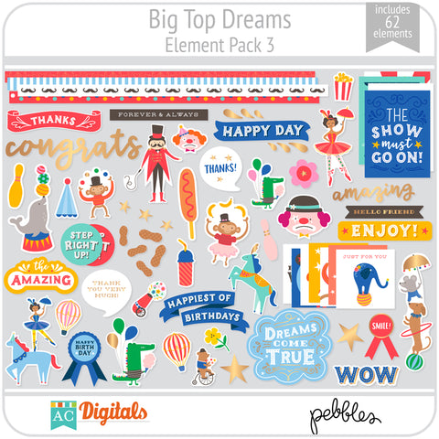 Big Top Dreams Element Pack 3