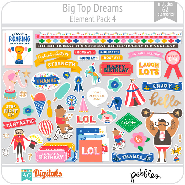Big Top Dreams Element Pack 4