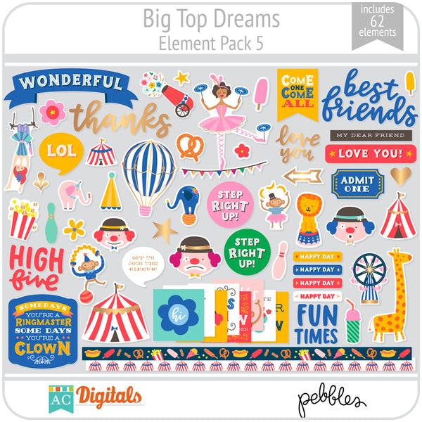 Big Top Dreams Element Pack 5