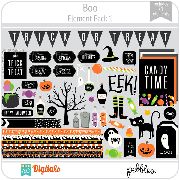 Boo Element Pack 1