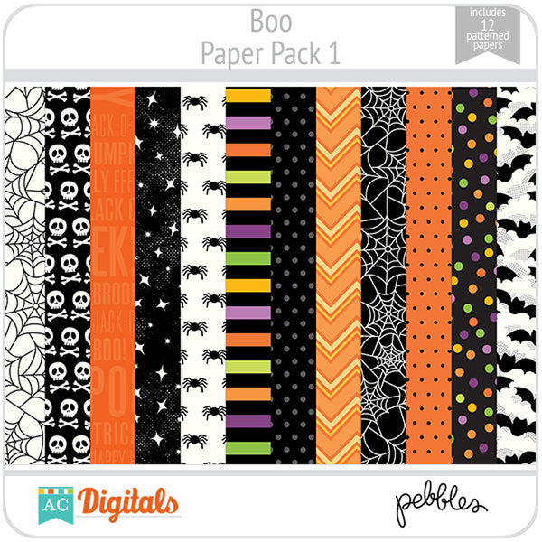Boo Paper Pack 1