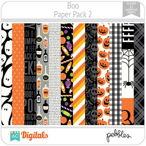 Boo Paper Pack 2