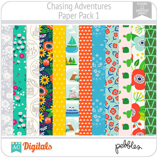 Chasing Adventures Paper Pack 1